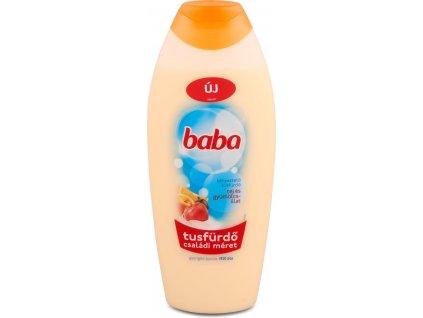 Baba sprchový gél Mlieko a ovocie 750ml