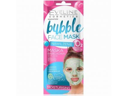 EVELINE Bubble Mask hydratačná látková maska