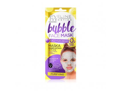 EVELINE Bubble Mask čistiaca látková maska