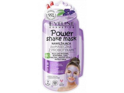 EVELINE Power Shake hydratačná BIO maska s probiotikami 10ml