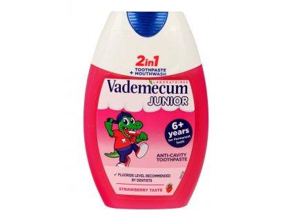 pol pl Vademecum Junior 6 Pasta do zebow 2w1 Strawberry 75ml 65290 1