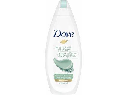 Dove Purifying detox sprchový gél 250ml