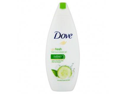 dove sprchovy gel s vonou uhorky a zeleneho caju go fresh fresh touch shower gel 250 ml kupele a starostlivost o telo 2165191