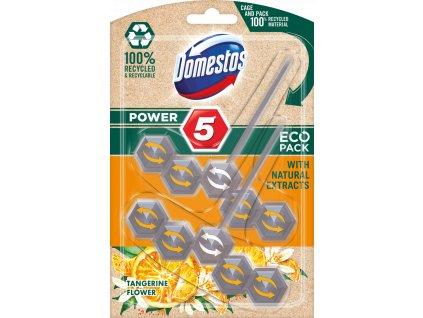 Domestos Power 5 Eco Pack Tangerine Flower 2x55g