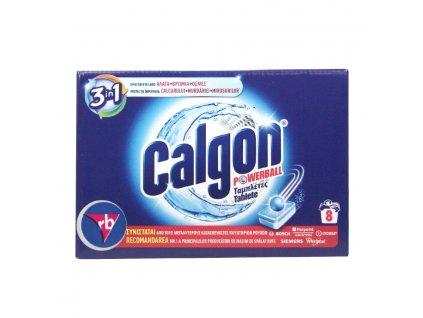 Calgon Powerball 3in1 tabletky na zmäkčovanie vody 8ks