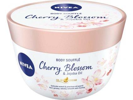 NIVEA Telové suflé s olejom Cherry Blossom & jojobový olej 200 ml