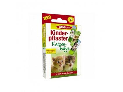 wundmed detske naplasti 10 ks koťátka
