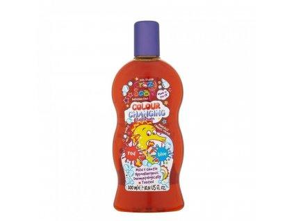 Crazy Soap Colour Changing pena do kúpeľa Red to Blue 300ml