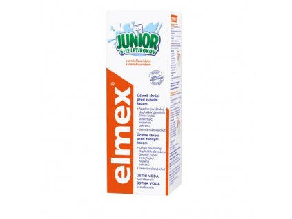 Elmex Junior 6-12r. ústna voda 400ml