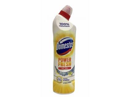Domestos Power Fresh Total Hygiene Citrus Fresh dezinfekčný Wc gél 700 ml