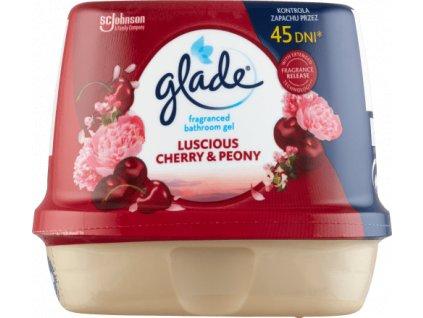 glade furdoszobai zseles illatosito luscious cherry peony