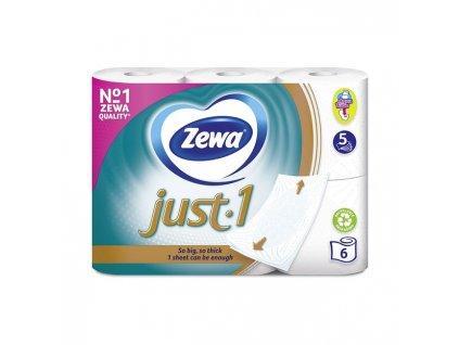 Zewa Just 1 toaletný papier 6ks