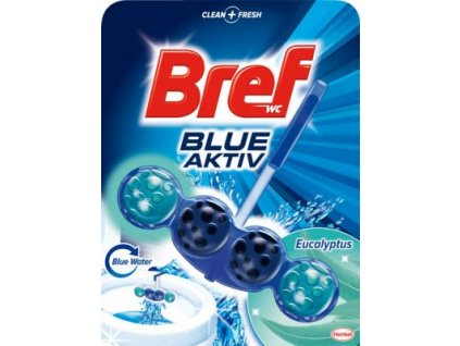 Bref Blue Aktiv Eukalypt WC Blok 50g
