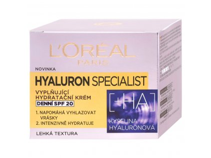 l oreal paris denny krem hyaluron specialist ha of 20