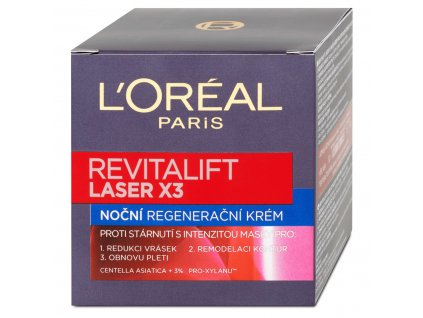 l oreal paris nocny regeneracny krem revitalift laser x3