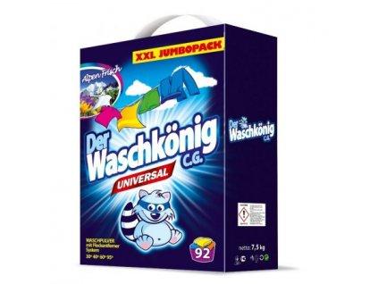 Waschkönig Universal prášok na pranie 7,5kg 92 praní