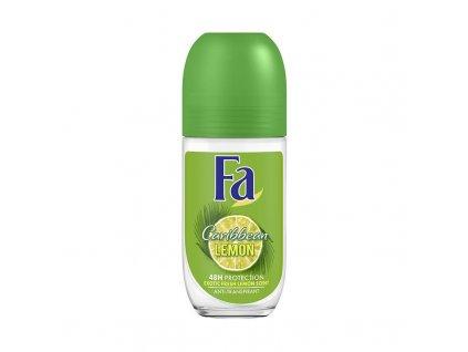 fa fa deoroller caribbean lemon 50ml