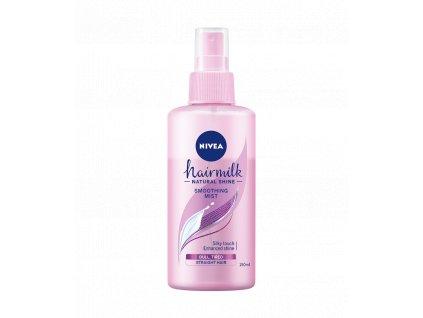 Nivea Hairmilk Natural Shine Smoothing Mist pre normálne vlasy 150ml