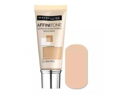 Maybelline Affinitone hydratačný make-up odtieň 09 Opal Rose 30 ml