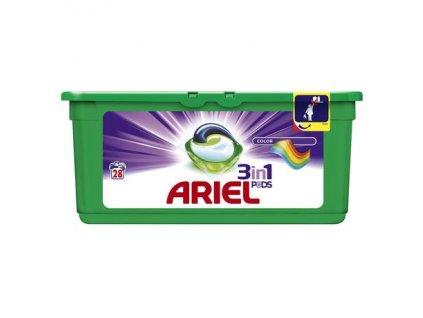 Ariel 3in1 Color gélové kapsule 28ks