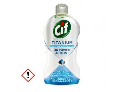 Cif Titanium Higiénikus kézi mosogatószer 450 ml full