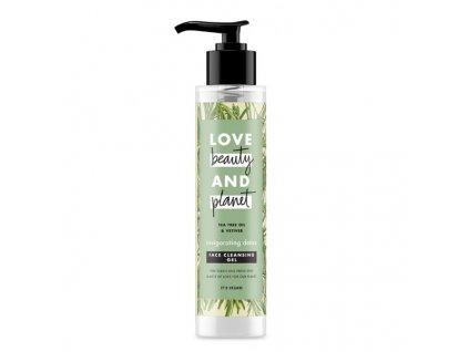 Love Beauty & Planet Invigorating detox čistiaci gél na tvár 125 ml