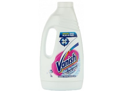Vanish Oxi Action Crystal White odstaňovač škvŕn 1 l
