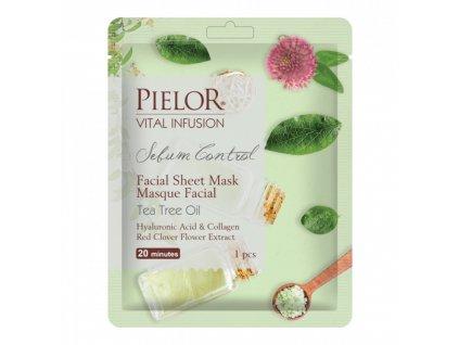Pielor Sebum Control látková maska 25ml