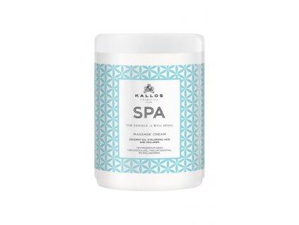 Kallos SPA masážny krém s kokosovým olejom 1000ml