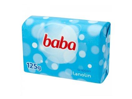 Baba Lanolin mydlo 125g