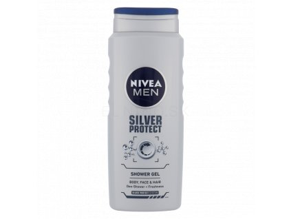 Nivea Men Silver Protect sprchový gél 500ml