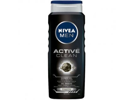 Nivea Men Active Clean sprchový gél 500ml