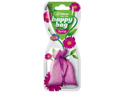happy bag floral