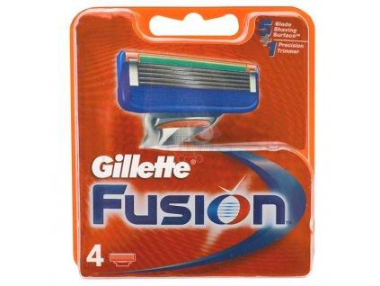 Gillette Fusion náhradné čepieľky 4ks