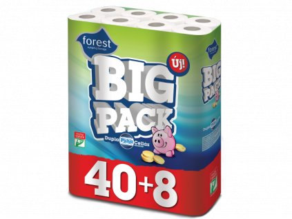 Forest Big Pack Duo toaletný papier 48ks