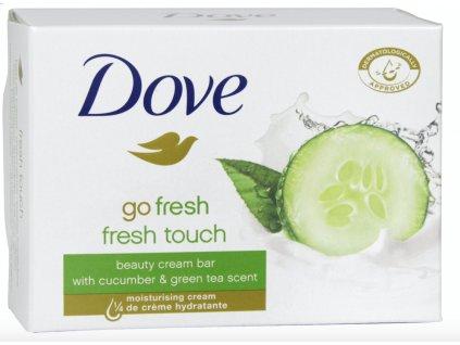 Dove Go Fresh Touch Uhorka a Zelený čaj mydlo 100 g