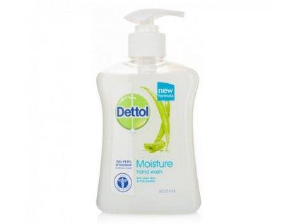 Dettol Moisturise Aloe vera tekuté mydlo dávkovač 250 ml