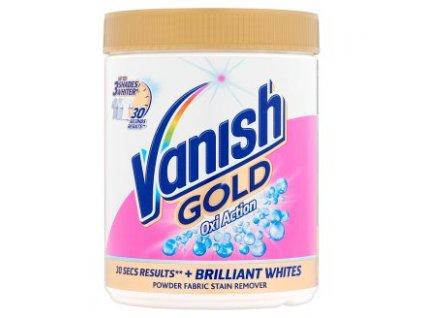 Vanish Gold Oxi Action odstraňovač škvŕn na bielu bielizeň 940 g