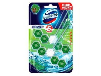Domestos Power 5 Pine 2x55g