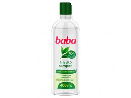 Baba šampón na mastné vlasy 400ml