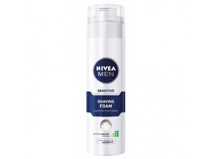 Nivea pena na holenie Sensitive 200ml