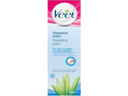 Veet Depilačný krém pre citlivu pokožku 100 ml