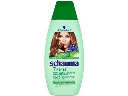 Schauma 7 Herbs šampón na vlasy 400ml