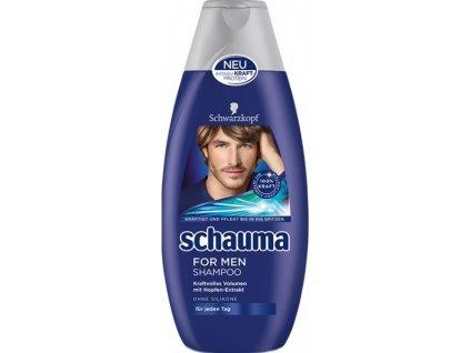 Schauma For Men šampón pre každý typ vlasov 400 ml