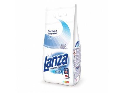 Lanza White Fresh & Clean prášok na pranie 7,5kg 100PD