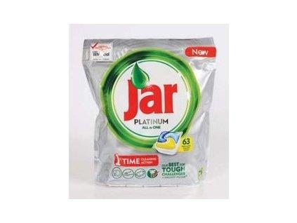 Jar Platinum All in One Lemon kapsule do umývačky riadu 63ks