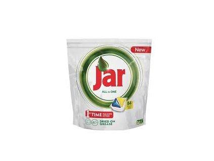 Jar All in One Lemon kapsule do umývačky riadu 84ks