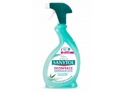 Sanytol ezinfekčný univerzálny čistič v spreji s vôňou eukalyptu 500ml