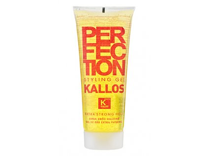 Kallos Perfection Styling gél na vlasy Extra Strong 250ml