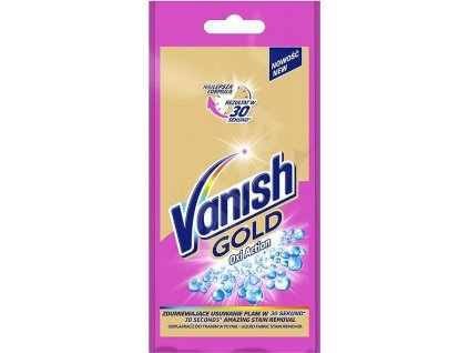 Vanish Gold Oxi Action Pink tekutý odstraňovač škvŕn 100ml